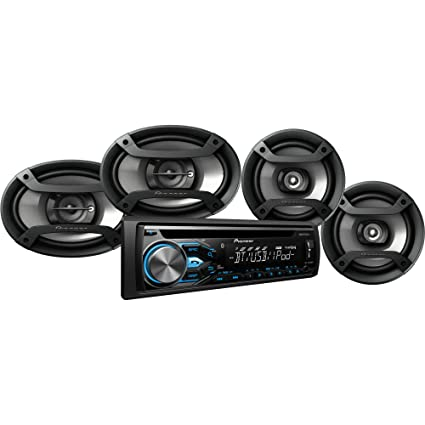 Amazon.com: Pioneer Car Audio System Package DXT-X4869BT: Cell ...