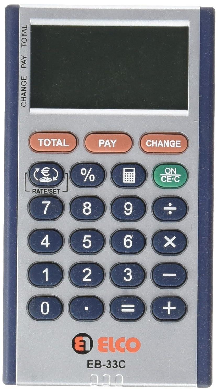elco-1/eb-33/C/ /Taschenrechner 3-zeiliges 110/x 60/x 10/mm