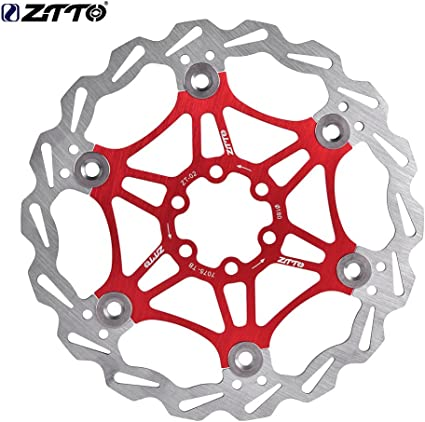 160mm Stainless Steel Mountain Bike Bicycle Floating Disc Brake Rotors /& 6 Bolts