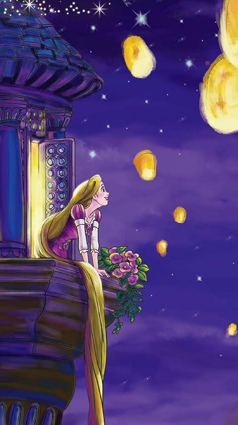 ディズニー ラプンツェル XFVGA(480×854)壁紙画像
