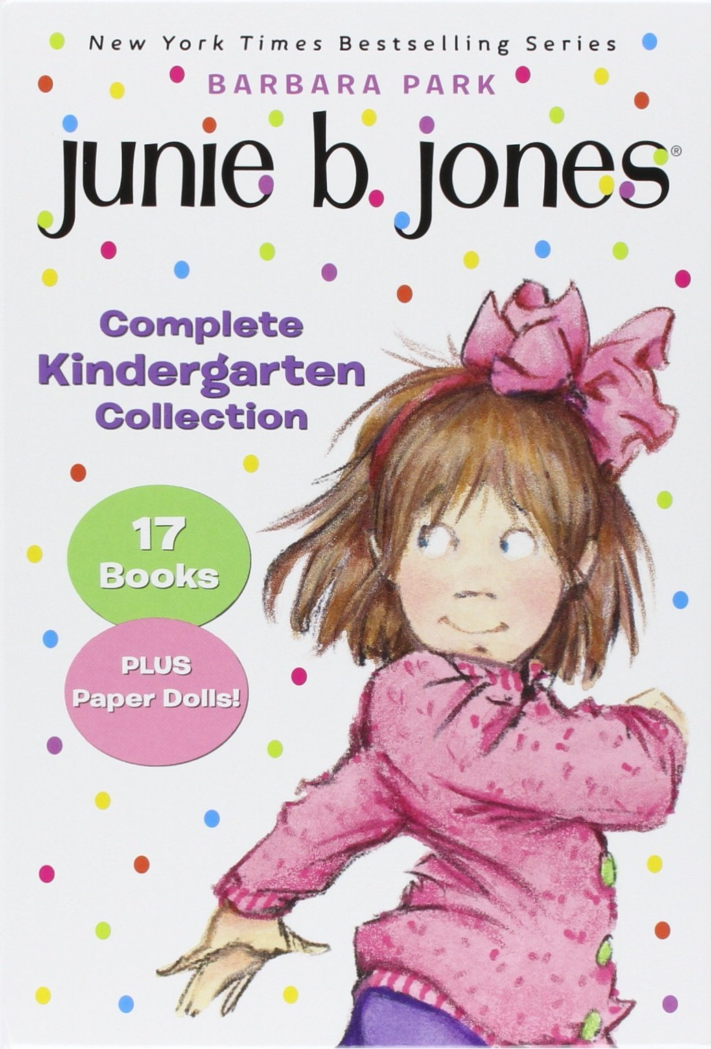 Junie B. Jones Complete Kindergarten Collection: Books 1-17 with paper dolls in boxed set by RHBYR