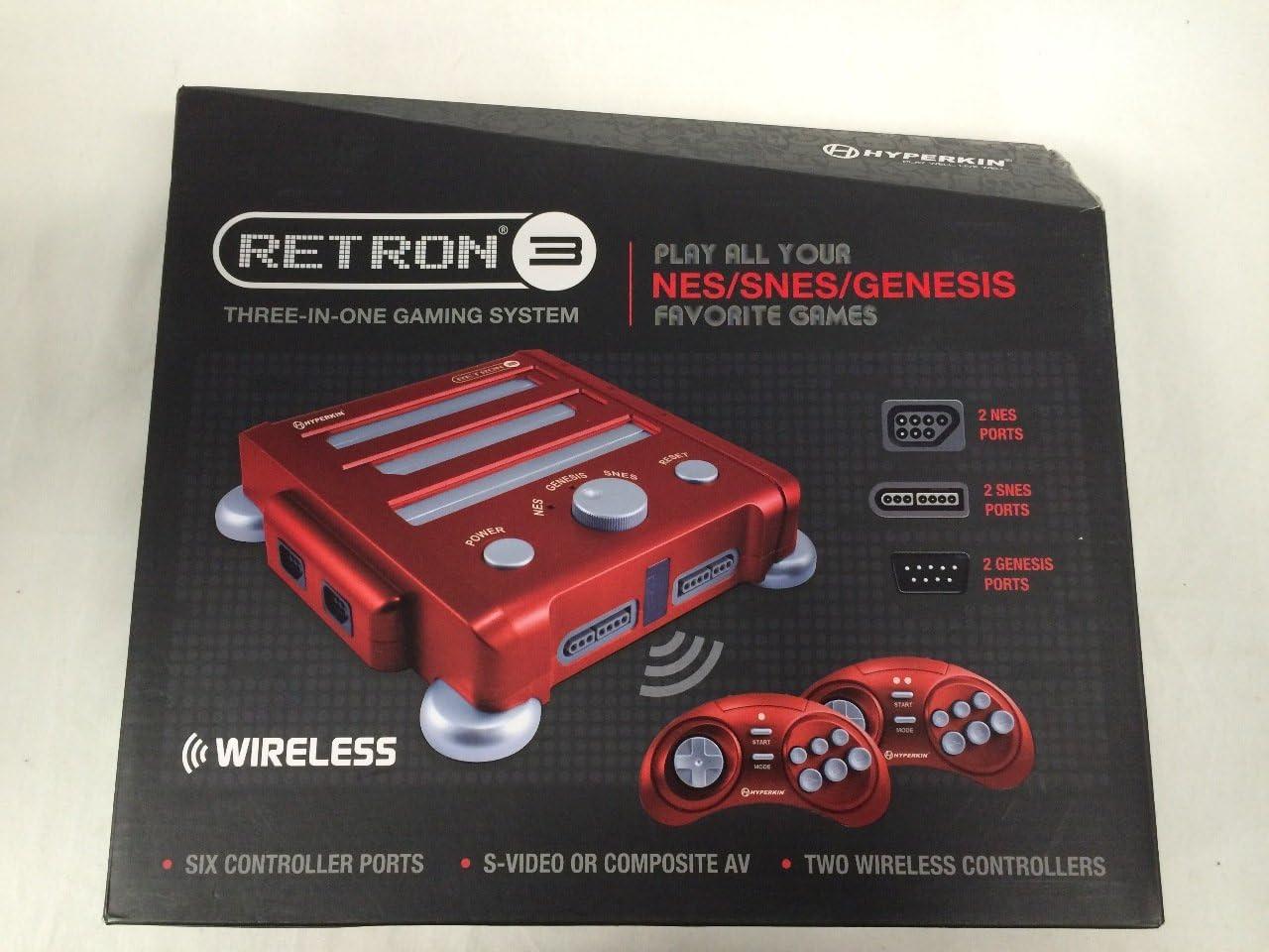 Amazon.com: Hyperkin Retron 3 Video Game System for NES/SNES ...