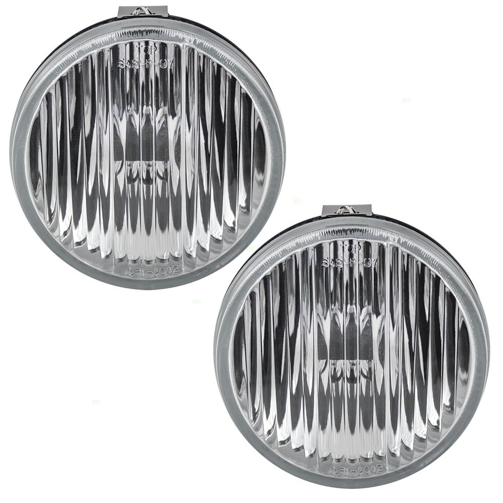 Pair Of Fog Lights Lamps Replacement For Ford E7zz15200a 1988 Mustang Automotive