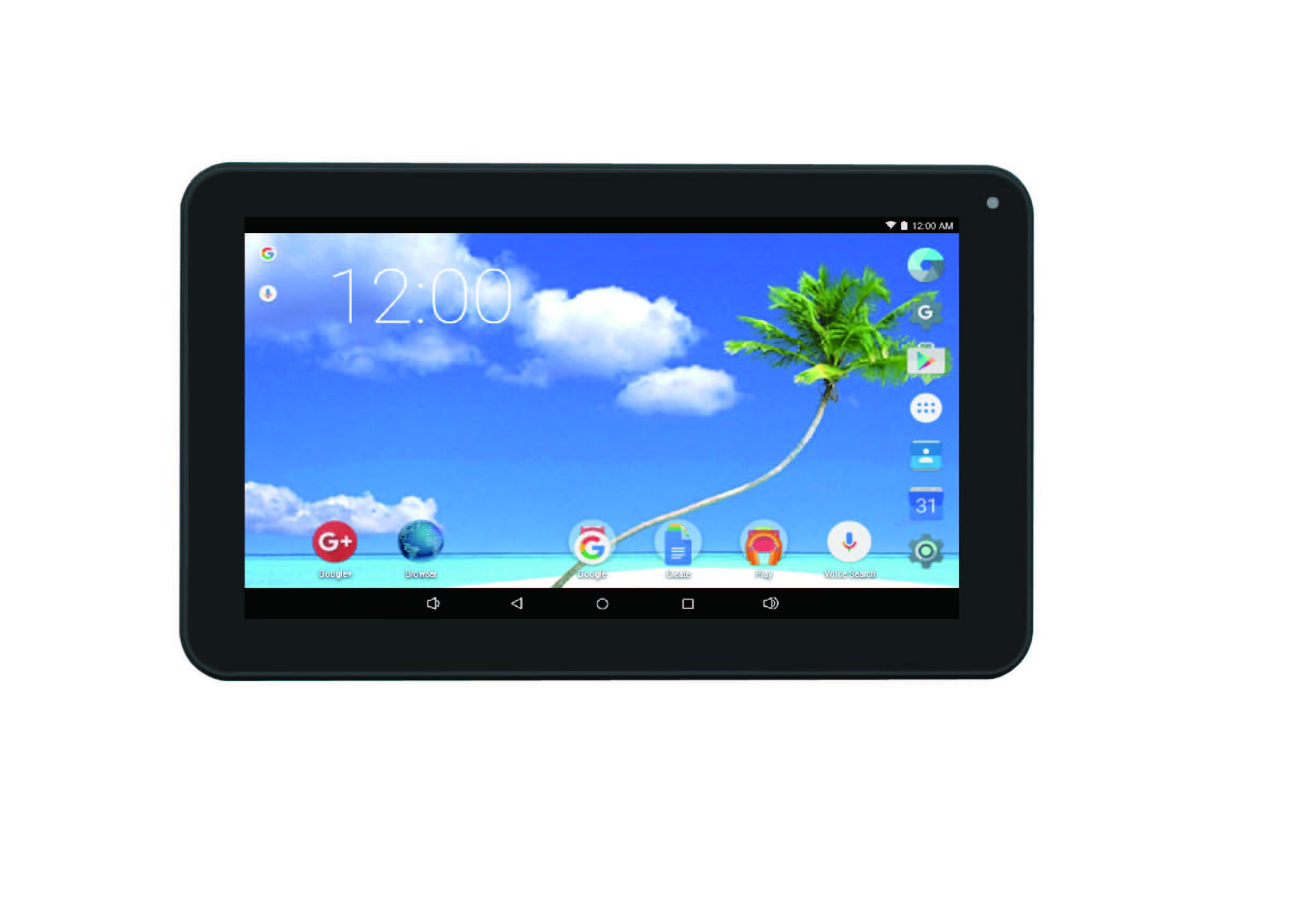 Proscan PLT9650 (K-512-8GB) 9'' Tablet Touch Screen Android 5.1 Lollipop 1.26GHz Quad Core Processor
