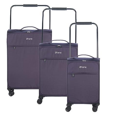 6926d30c8 ZFrame 4 Double Wheel Super Lightweight Suitcase 3 Piece Set, 18