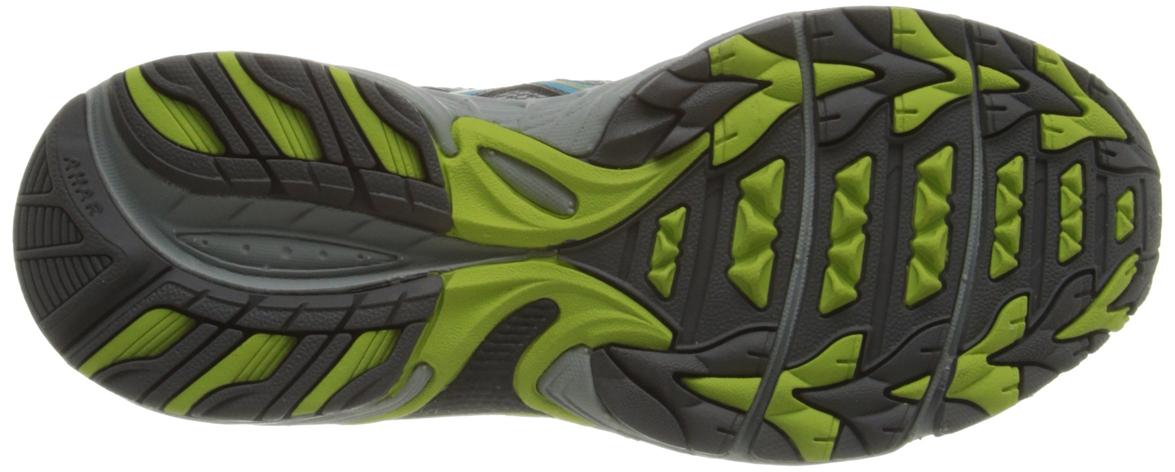 ASICS Women's Gel-Venture 5 Running Shoe, Silver Grey/Turquoise/Lime Punch, 6 M US by ASICS (Image #3)