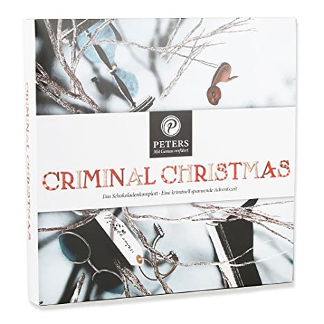 Peters Adventskalender Criminal Christmas II mit Buch, 1er Pack (1 x ...