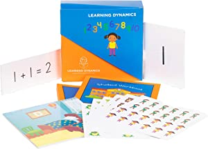 LEARNING DYNAMICS 15 Minute Math   Math System for 3 to 7 Year olds   Learn Math with Manuals, Books, Flashcards, and Hands on Learning Activities
