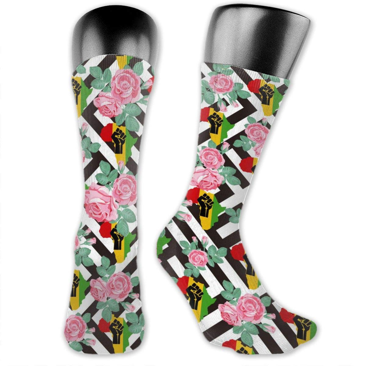 Casual Africa Cotton Dress Socks For Men Women Socks
