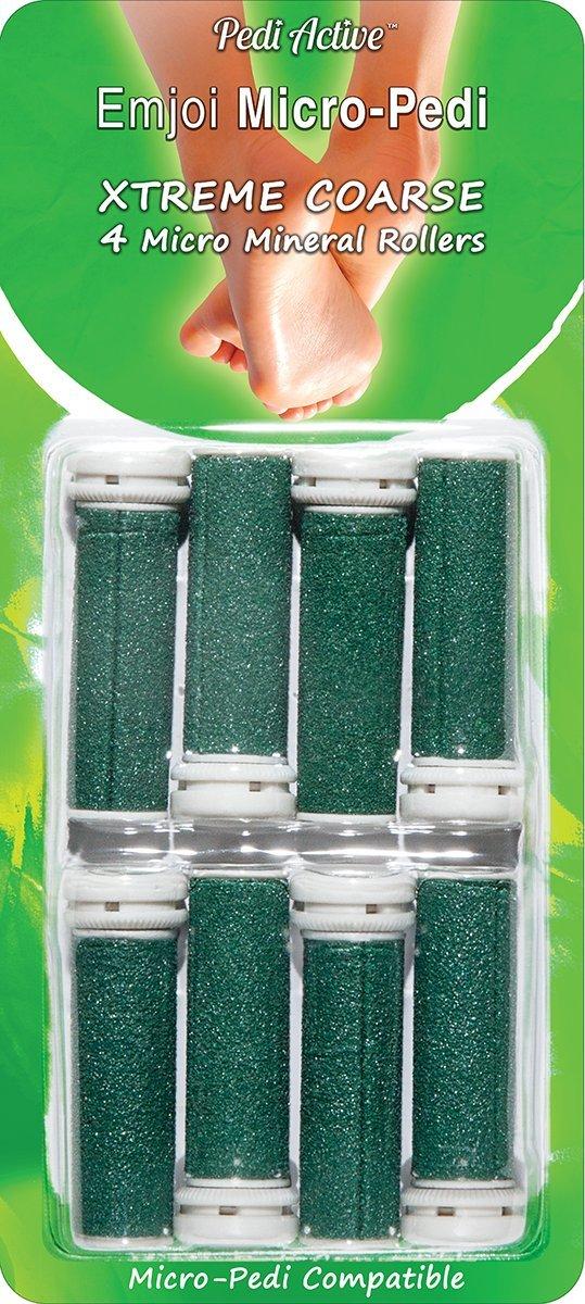 Emjoi Micro-Pedi Refill Rollers (Xtreme Coarse) - Pack of 8