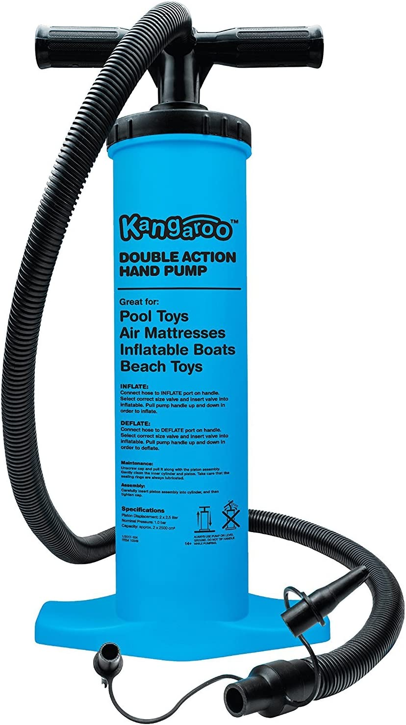 Kangaroo Air Pump, Inflatable Pool Pump, Mattress Pump, Hand Pump