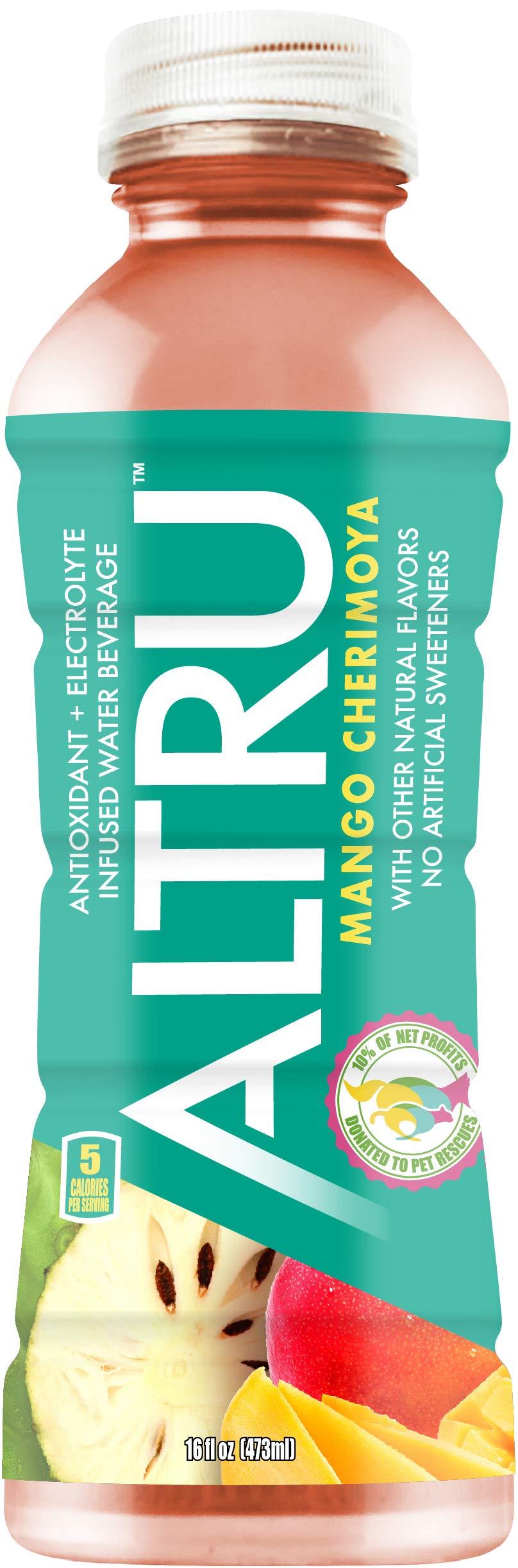 ALTRU Mango Cherimoya - 12 pack (16 ounce) bottles - The Mother of all Antioxidant Drinks by ALTRU