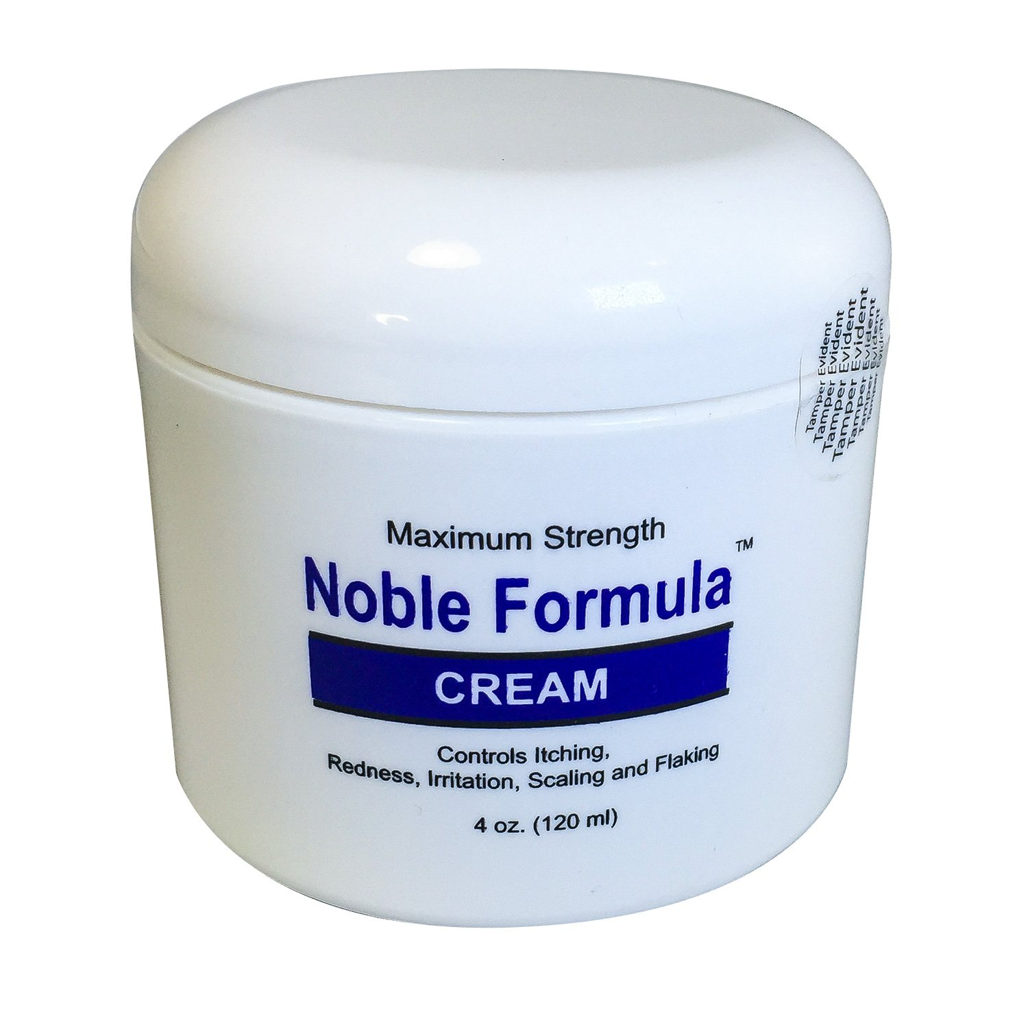 Noble Formula Zinc Cream - Pyrithione Zinc (ZnP), 4 Oz (120ml), Especially Formulated for Relief of Symptoms of Psoriasis, Eczema, Lichen Planus, Seborrheic Dermatitis and Other Hyperkeratotic Skin Conditions HealthCenter NOBLE-C2
