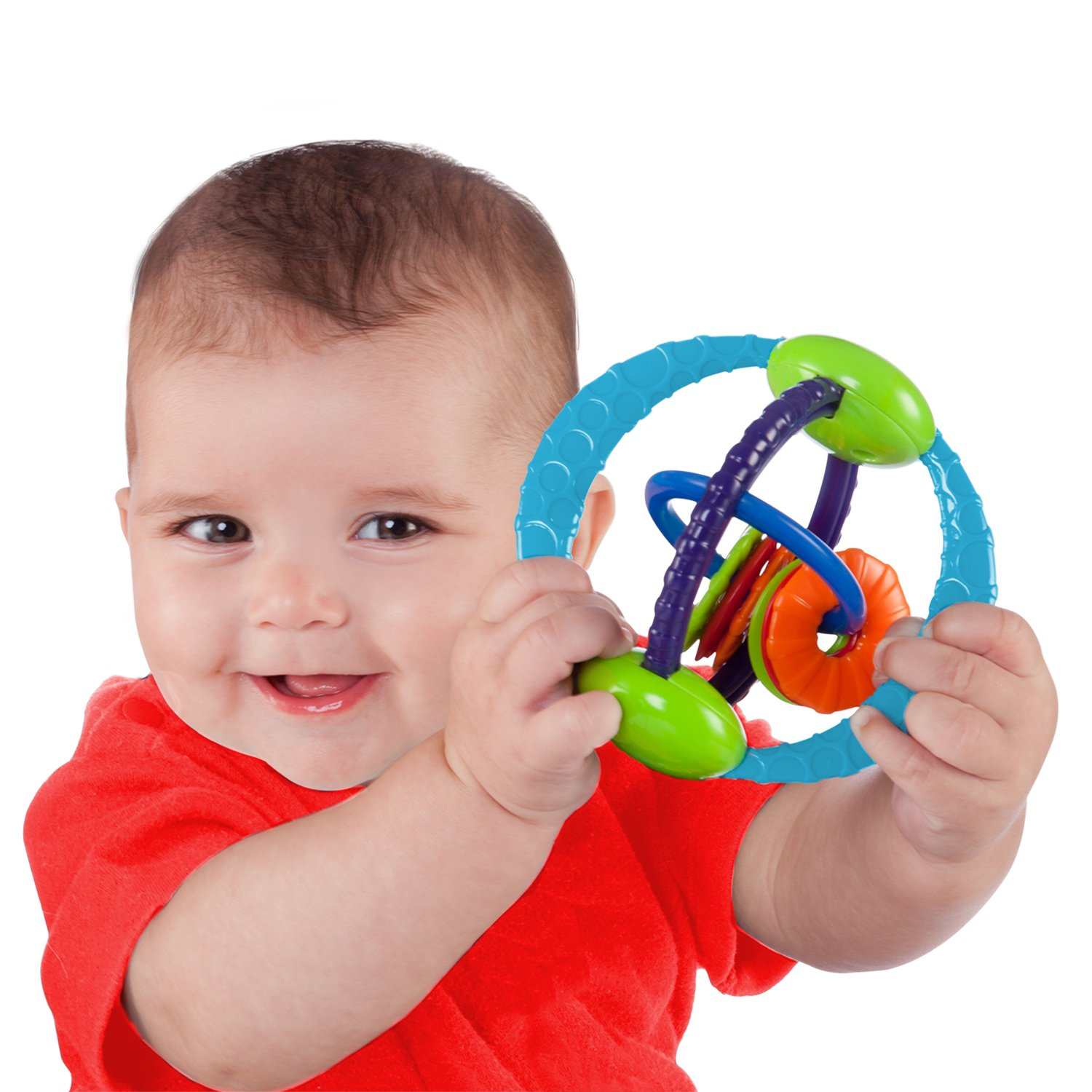 Amazon O Ball Twist O Round Toy Baby Touch And Feel Toys