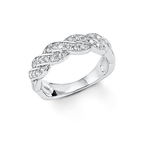 71e09aea890e s.Oliver Damen-Ring 925 Silber rhodiniert Zirkonia weiß  Amazon.de  Schmuck