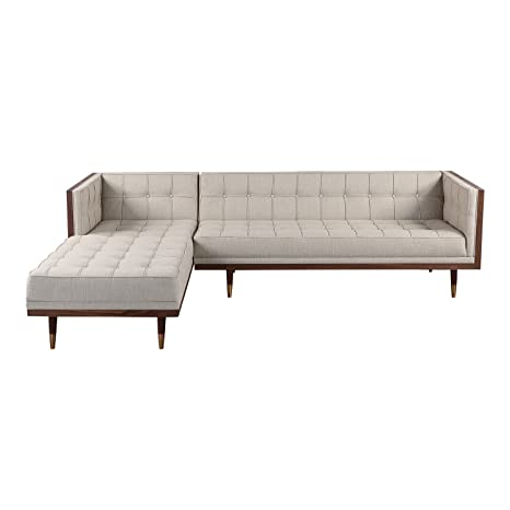 Peachy Amazon Com Kardiel Woodrow Midcentury Modern Box Sofa Cjindustries Chair Design For Home Cjindustriesco