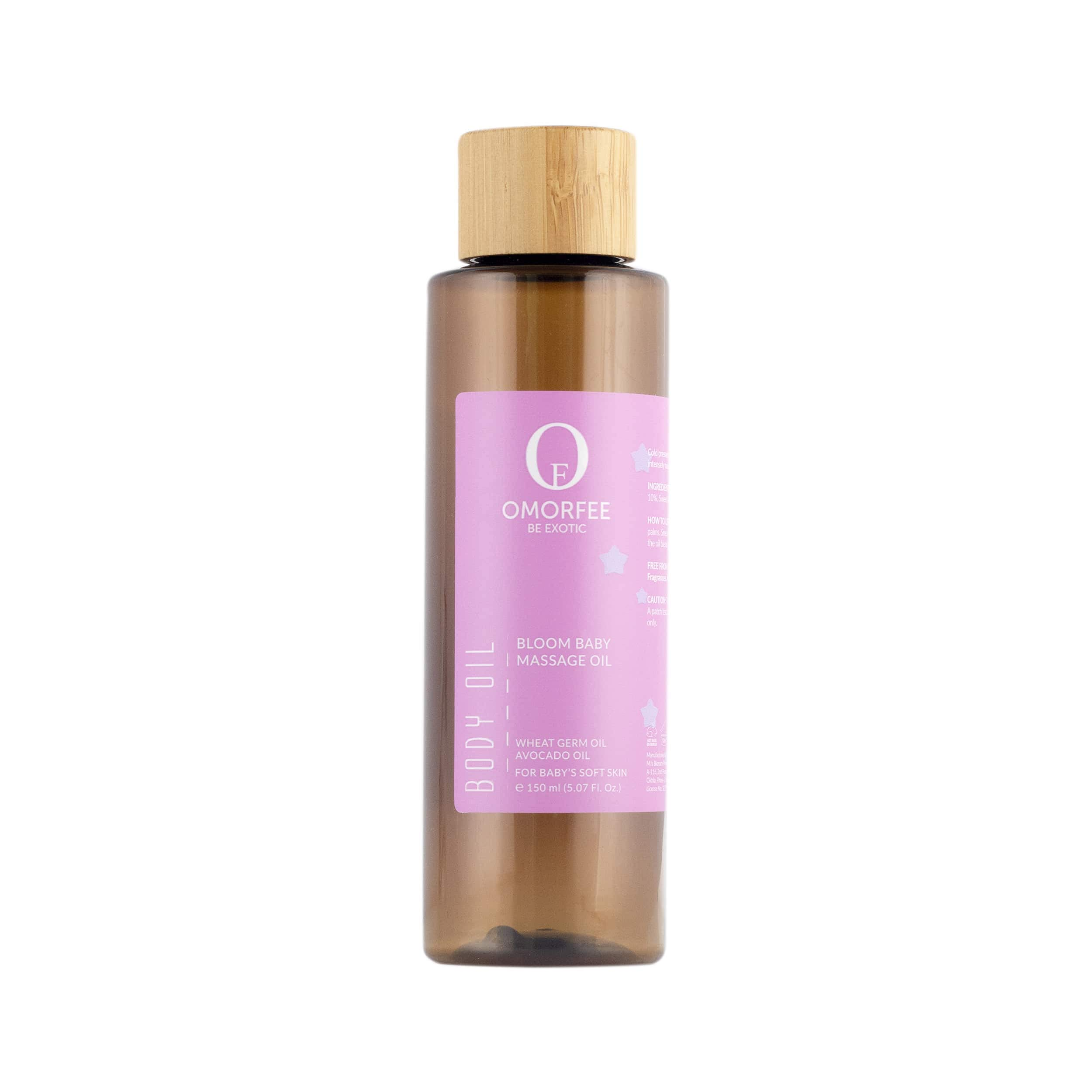 OMORFEE Bloom Baby Massage Oil (150ml) by OMORFEE