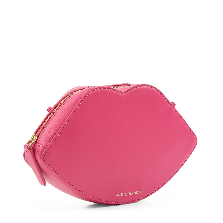 19f93b81e Lulu Guinness Women's Coco Cross-Body Bag Pink (Peony): Amazon.co.uk: Shoes  & Bags