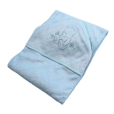 Runer 70% bambú + 30% algodón toalla con capucha para bebé/90 x