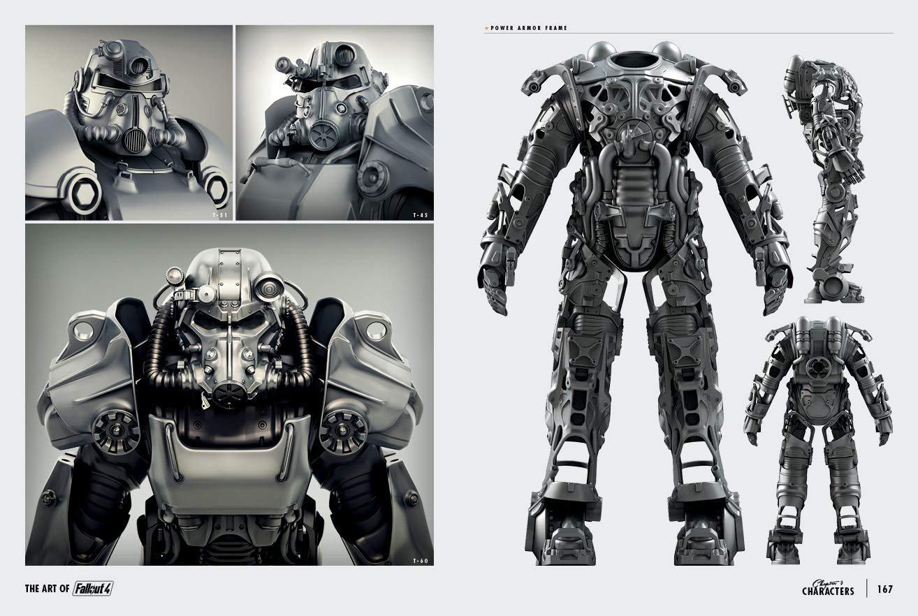 Amazon.com: The Art of Fallout 4 (9781616559809): Bethesda ...