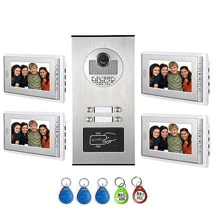 Amazon Amocam Video Intercom Entry System Wired 7 Lcd