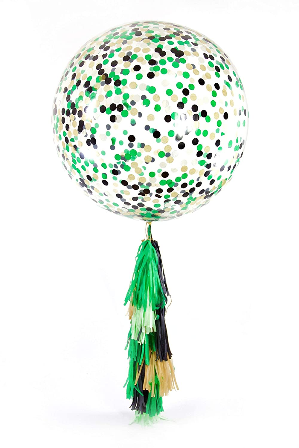 36 Where The Wild Things Are Confetti Balloon with 15pc Tassel Tail