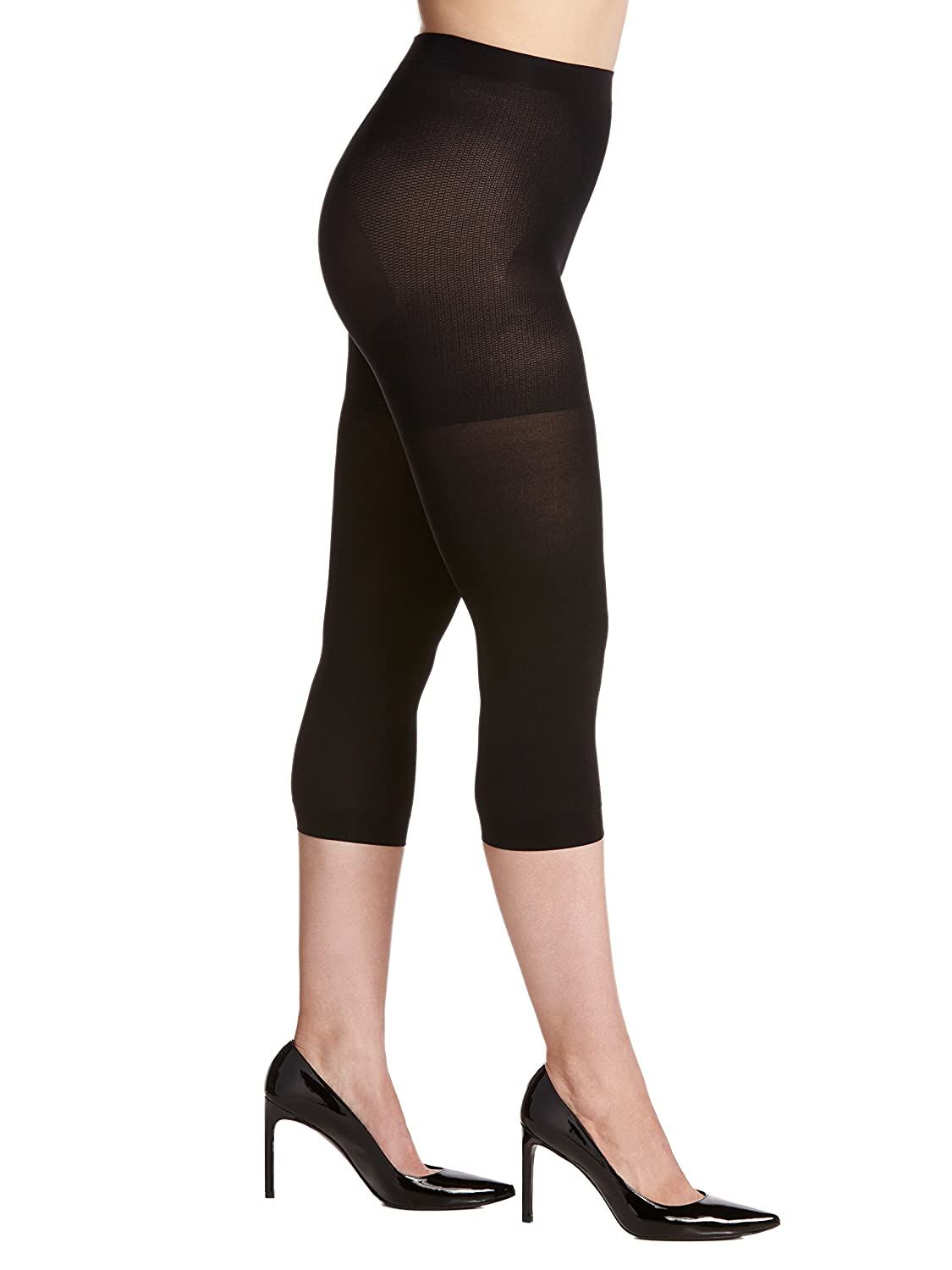 Berkshire Women's Easy On Max Coverage Capri Length Plus Size Tights Berkshire Women's Hosiery 5045