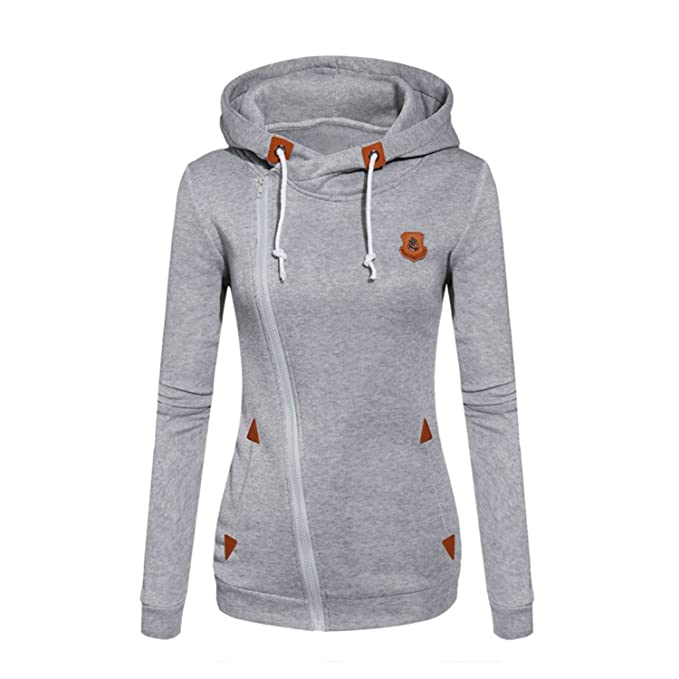 Willie Marlow Women Fashion Fleeces Sweatshirts Hooded Candy Colors Solid Sweatshirt Long Sleeve Zip Up at Amazon Womens Clothing store: