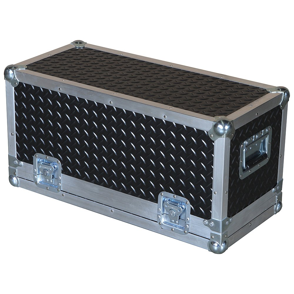 Head Amplifier 3/8 Ply Professional ATA Case with Diamond Plate Laminate Fits Marshall Dsl100