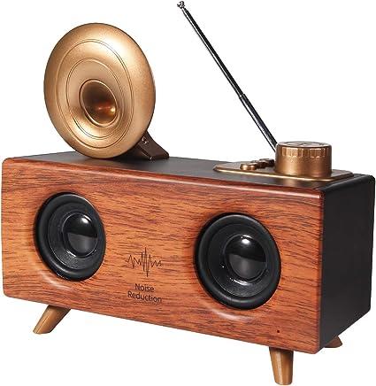 Dual Speakers Wireless Bluetooth Speaker Best Outdoor Loud Portable SD//FM//AUX