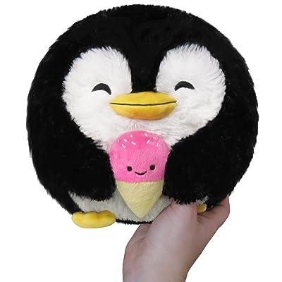 """Squishable / Mini Penguin Holding Ice Cream Plush - 7"""": Toys & Games"""