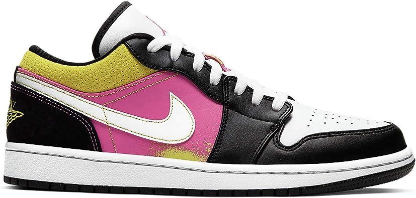 Amazon Com Nike Air Jordan 1 Low Se Mens Cw5564 001 Basketball