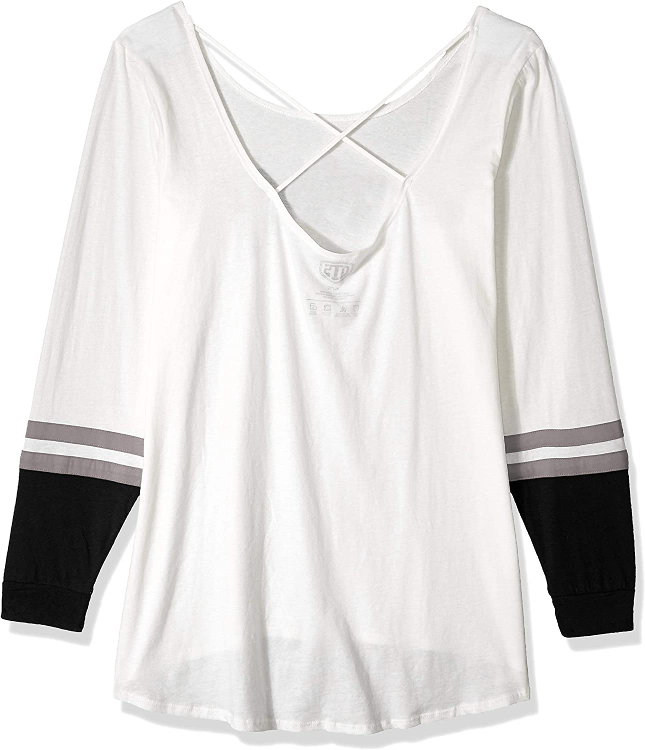 NFL Womens OTS Scoop Back Long Sleeve Tee