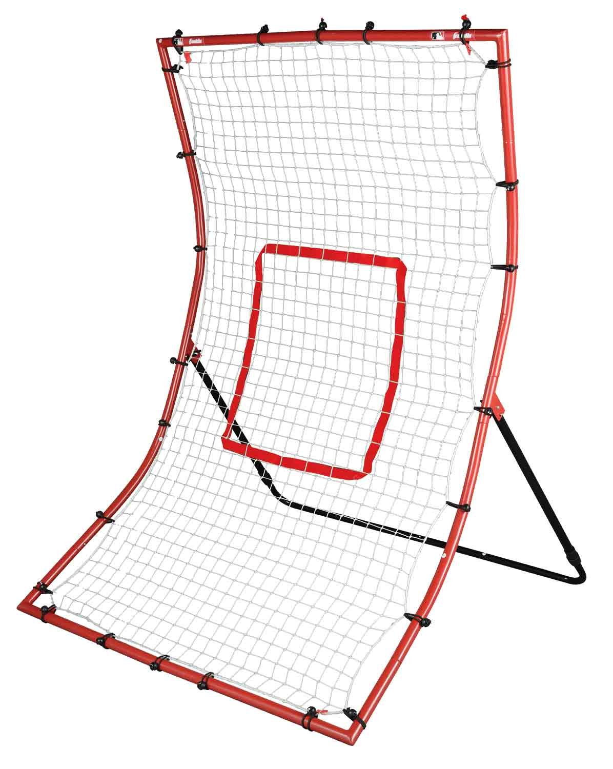 Franklin Sports MLB 2-in-1 Switch-Hitter Flyback Return Trainer, 68'' x 44'' by Franklin Sports