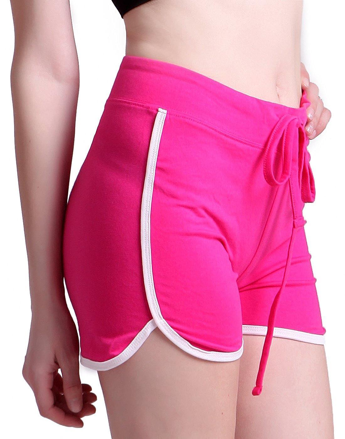 HDE Womens Retro Fashion Dolphin Running Workout Shorts