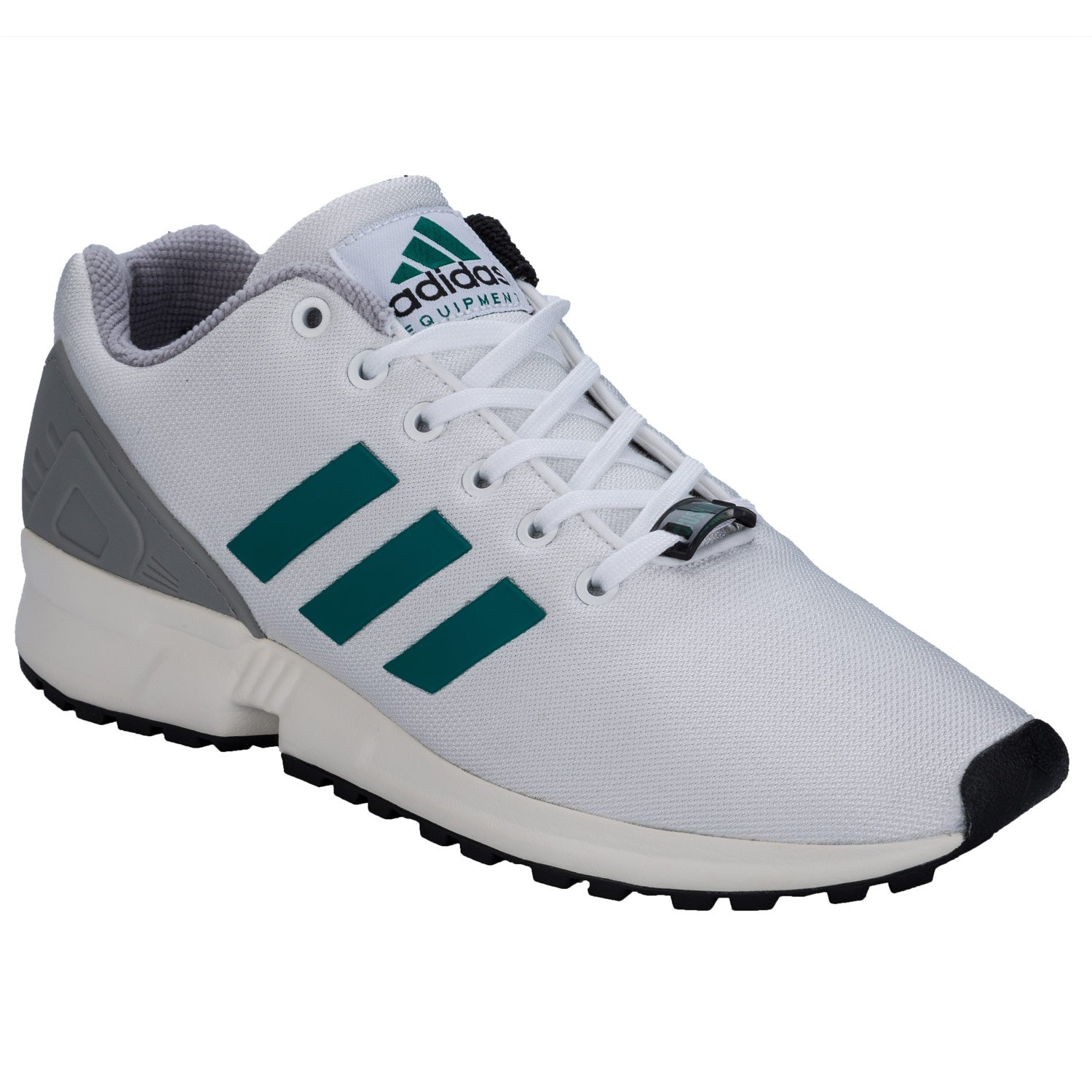 finest selection 42a00 a8150 adidas Mens Originals Mens Zx Flux EQT Trainers in White ...