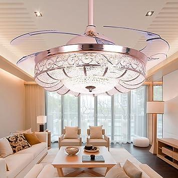 Superb Huston Fan Modern Ceiling Fans 42 Inch Gold Luxury Ceiling Fan Lights Retractable  Ceiling Fan With