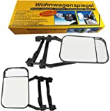 2 Stck Caravanspiegel Wohnwagenspiegel Auto Caravan Spiegel Links Rechts