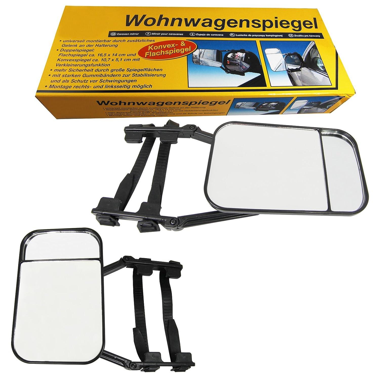 2 Stck Caravanspiegel Wohnwagenspiegel Auto Caravan Spiegel Links Rechts IGOERTZ