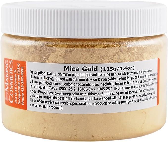 Oro de mica – 4.4oz/125 g: Amazon.es: Belleza