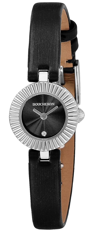 [ブシュロン]BOUCHERON 腕時計 ブラック文字盤 WA012510 レディース 【並行輸入品】 B01M7TY1L4