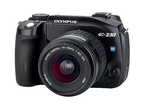 Olympus E-330 Black - Cámara Réflex Digital 7.5 MP (Cuerpo ...