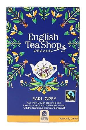 Lote de 20 bolsas de té de comercio justo y orgánico, color ...