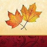 Autumn's Gift 3-Ply Beverage Napkins 16 Per Pack