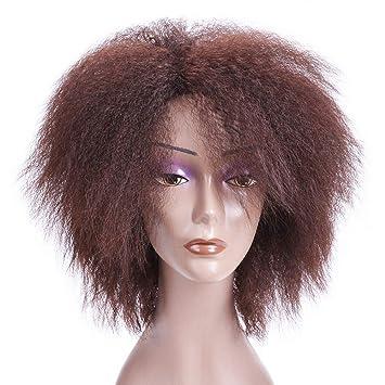 BERON Women's Short Fluffy Curly Wig Cosplay
