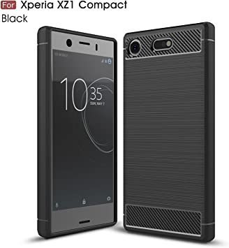 GOGME Funda para Sony Xperia XZ1 Compact, Slim Silicona Case ...