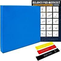 CCLIFE podkładka balansowa, antypoślizgowa poduszka do balansowania TPE do jogi, treningu fitness, równowagi rdzenia…