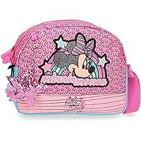 Disney Minnie Pink Vibes Bandolera Rosa 20,5x16,5x6 cms Poliéster