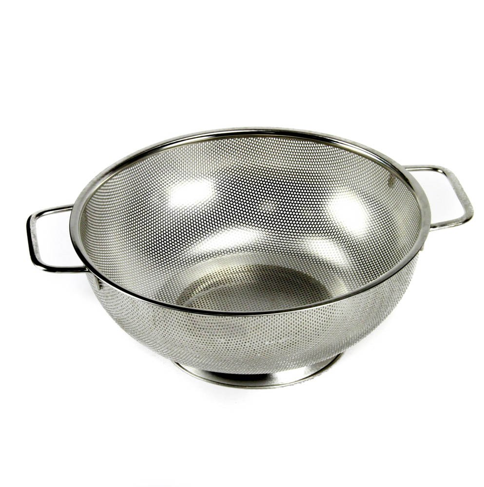 Chef Craft Microperforated Stainless Steel Colander, 5 Quart 21945