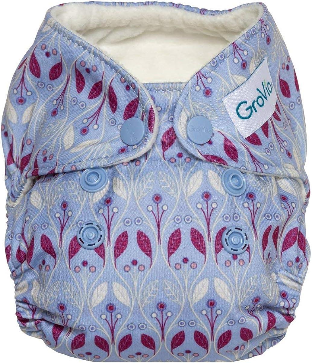 GroVia Newborn All in One Snap Reusable Cloth Diaper (AIO)